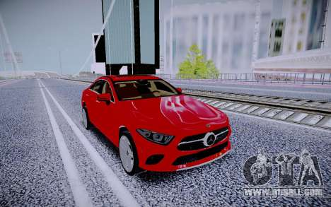 Mercedes-Benz CLS450 4matic 2018 for GTA San Andreas back view