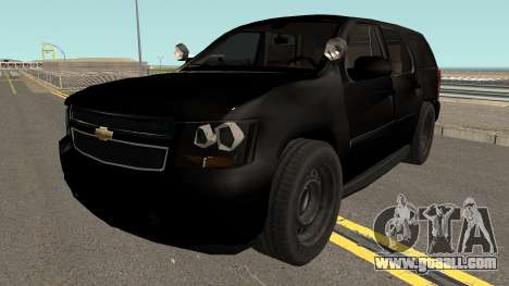 Chevrolet Tahoe SUV (Police Livery) Low-poly for GTA San Andreas