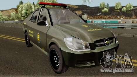 Chevrolet Prisma Brigada Militar for GTA San Andreas