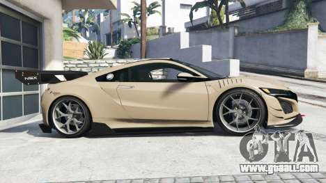 GTA 5 Acura NSX 2017 [replace] left side view