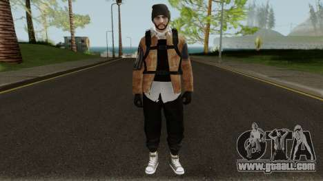 Skin Random 80 (Outfit The Division) for GTA San Andreas