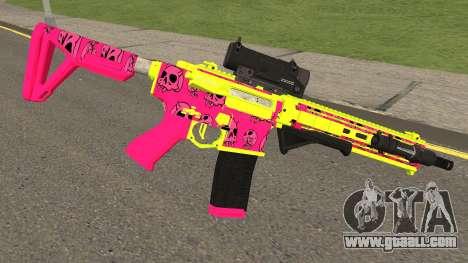 GTA Online Gunrunning Carbine Rifle MK.II Pink for GTA San Andreas