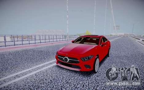 Mercedes-Benz CLS450 4matic 2018 for GTA San Andreas