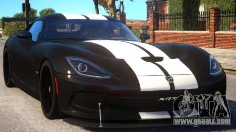 Dodge Viper 2013 PJ3 for GTA 4