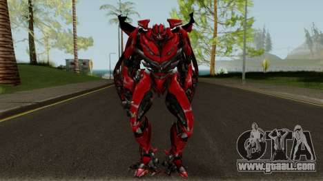 Mirage The Autobots Transformer Mod for GTA San Andreas second screenshot