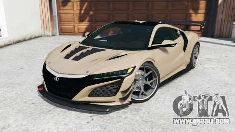 GTA 5 Acura NSX 2017 [replace] right side view