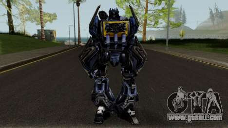 Soundwave Robot Decepticons Transformers Mod for GTA San Andreas second screenshot