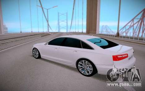 Audi A6 2.4 for GTA San Andreas right view
