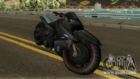INJ2 CatWoman Motorcycle for GTA San Andreas