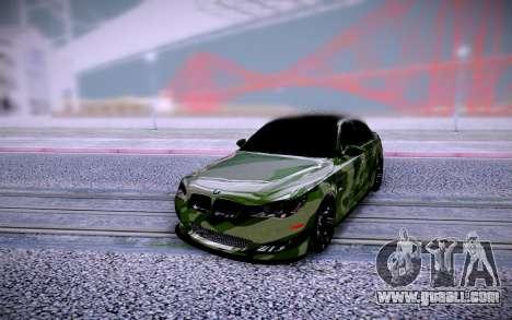 BMW M5 E60 Camo for GTA San Andreas