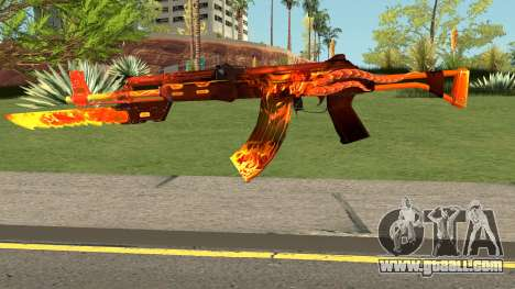 Rules Of Survival AK47 for GTA San Andreas