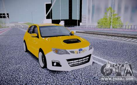 Subaru Impreza StanceWorks for GTA San Andreas