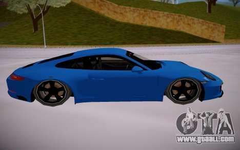 Porsche 911 Carrera S SA StyledLow Poly for GTA San Andreas