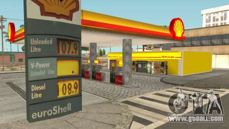Shell Gas Station Updated for GTA San Andreas second screenshot