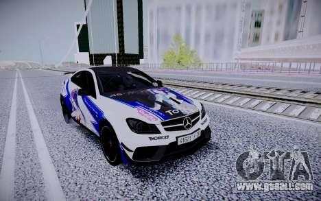 Mercedes-Benz C63 for GTA San Andreas