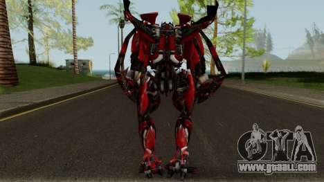 Mirage The Autobots Transformer Mod for GTA San Andreas third screenshot