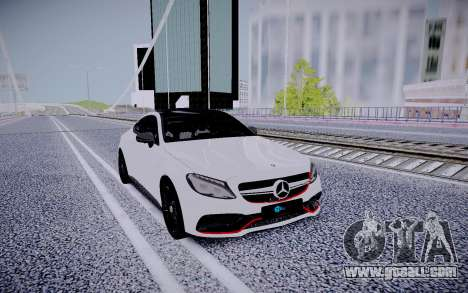 Mercedes-Benz C63 for GTA San Andreas right view