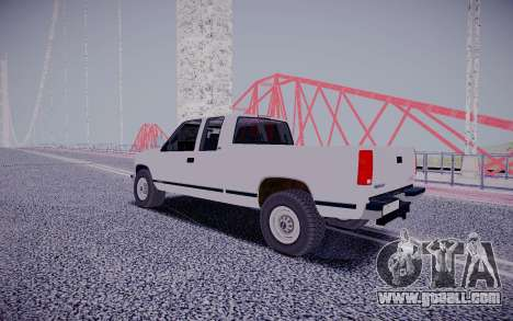 GMS Sierra for GTA San Andreas back left view