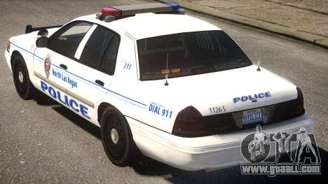 Ford CV Police for GTA 4