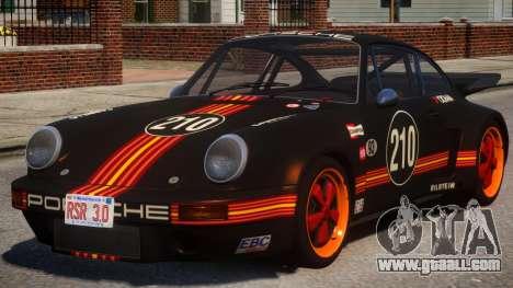 1974 Porsche 911 PJ1 for GTA 4