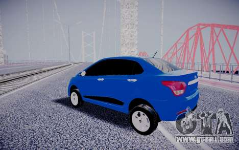 Kia Rio Sedan for GTA San Andreas