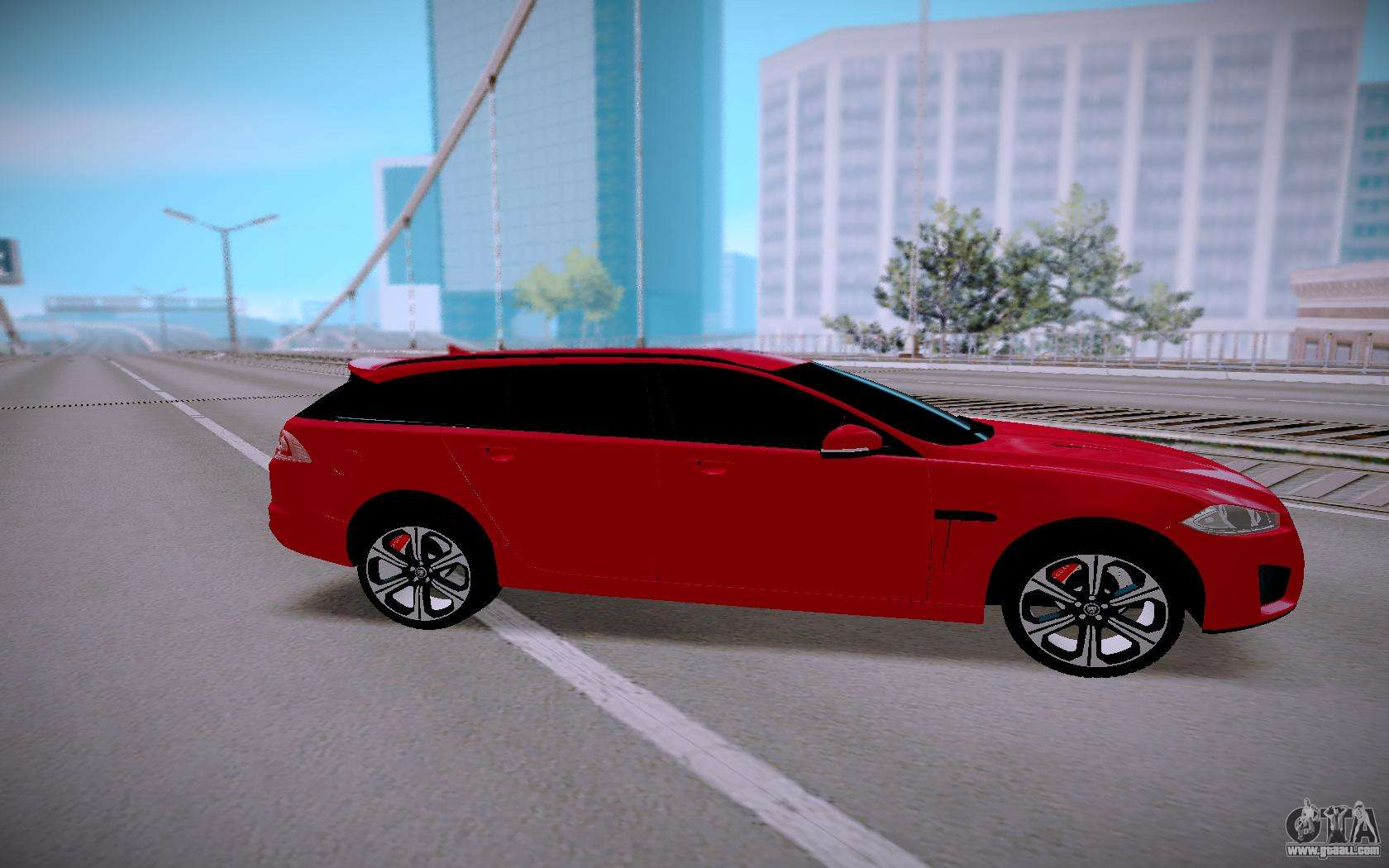 jaguar xfr s sportbrake 2015 for gta san andreas. Black Bedroom Furniture Sets. Home Design Ideas