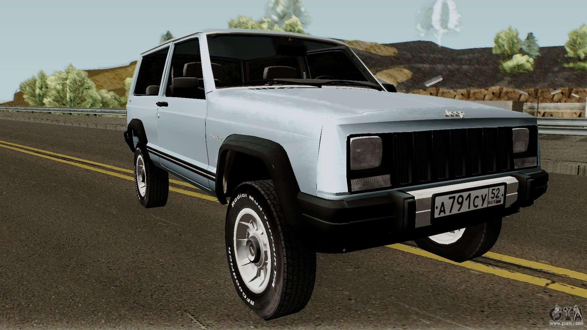 9700 Mod Mobil Jeep Gta San Andreas Terbaik