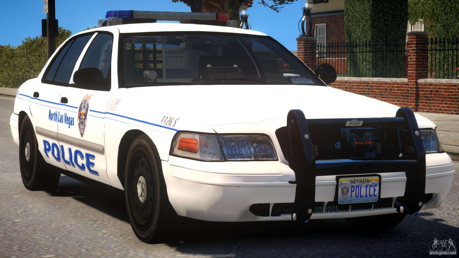 ford cv police for gta 4