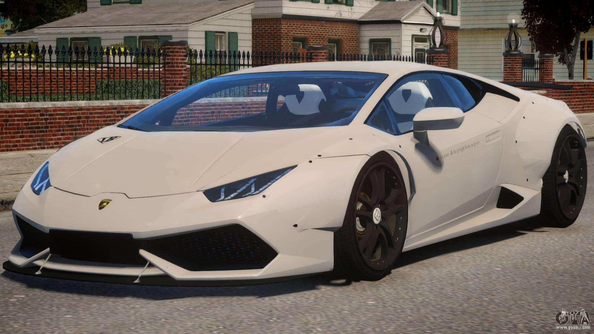 Lamborghini Huracan Liberty Walk for GTA 4