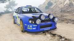 Subaru Impreza S8 WRC (GD) 2001 [add-on] for GTA 5