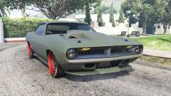 Plymouth Cuda 1970 Torc v1.3 for GTA 5