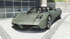Pagani Huayra roadster 2017 [add-on] for GTA 5