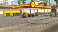 Shell Gas Station Updated for GTA San Andreas