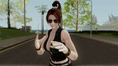 Mai Shiranui (Short Leather) From Dead or Alive for GTA San Andreas