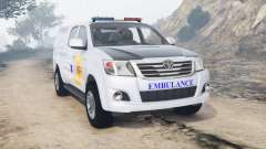 Toyota Hilux Double Cab Thai Ambulance [replace]