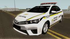 Toyota Corolla Brazilian Police for GTA San Andreas