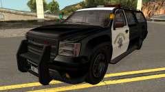 Declasse Granger SAHP Police GTA V