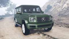 Mercedes-Benz G 500 (W463) 2018 [add-on] for GTA 5