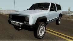 Jeep Cherokee XJ for GTA San Andreas