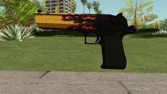 Desert Eagle Blaze for GTA San Andreas