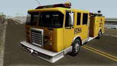 Firetruck Paintable in the Two of the Colours for GTA San Andreas