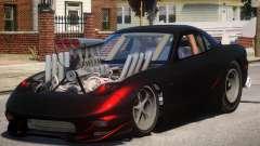 Mazda RX7 Dragster V1 1 for GTA 4
