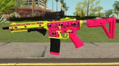 GTA Online Gunrunning Carbine Rifle MK.II Pink