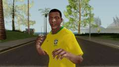 Franklin Brazil World Cup for GTA San Andreas