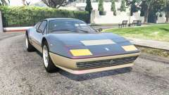 Ferrari 512 Berlinetta Boxer 1976 v2.0 [add-on] for GTA 5