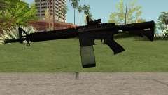 M4-A1 Black for GTA San Andreas