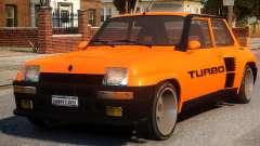 Renault 5 Turbo V2 for GTA 4