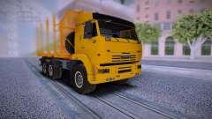 KAMAZ 6460 Truck for GTA San Andreas