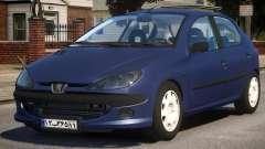 Peugeot 206 V1 for GTA 4