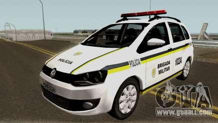Volkswagen SpaceFox Police for GTA San Andreas